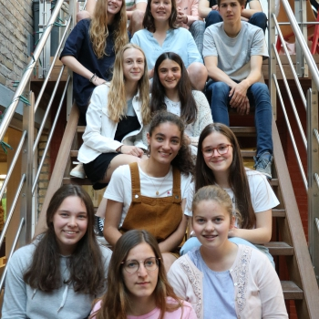 nieuwe leerlingenraad Immaculata